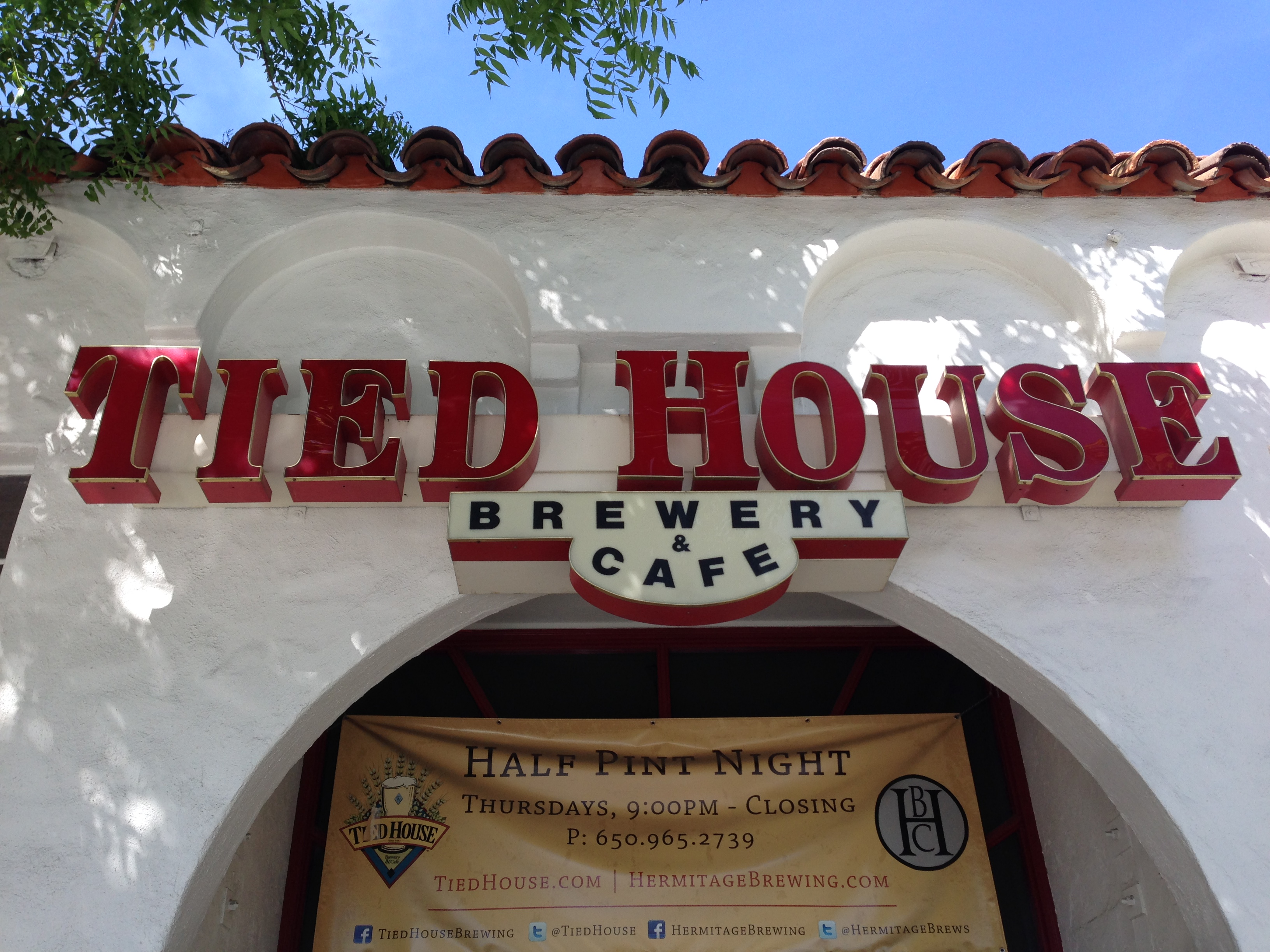 Tied House Brewery Cafe Mountain View Ca I Stop For Hops